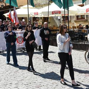 Marsz Rotmistrza Pileckiego w Lublinie